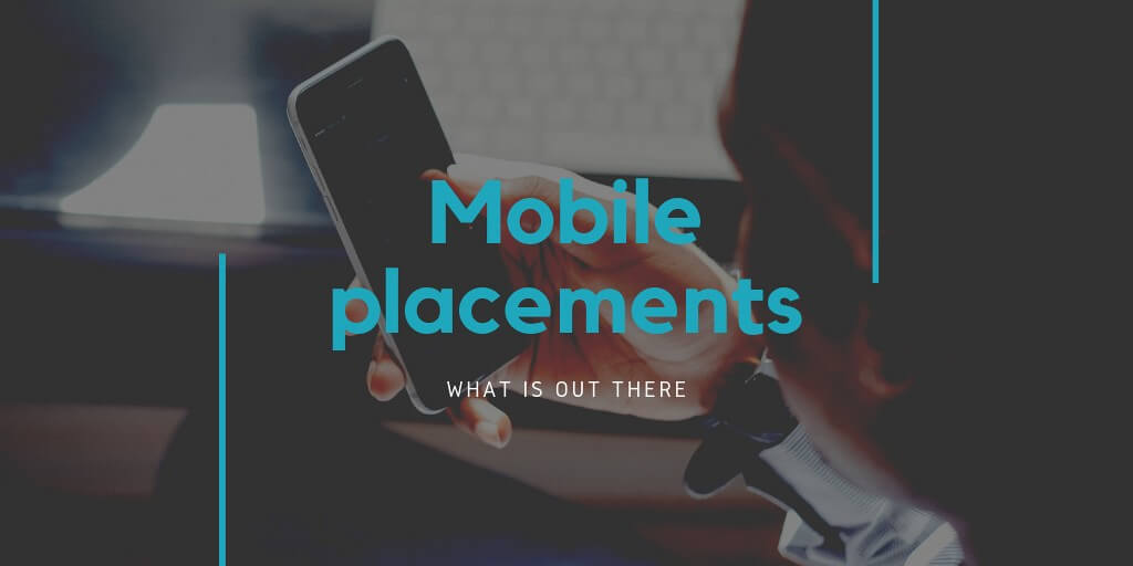 Best mobile ad formats and types