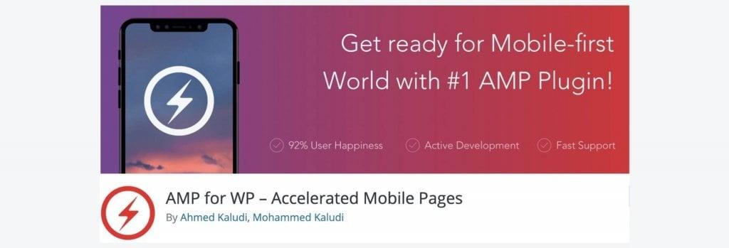AMP for WP WordPress plugin billboard