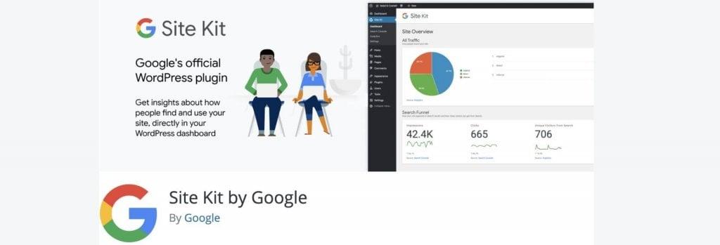 Site kit by Google WordPress plugin billboard