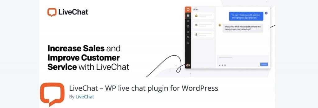 LiveChat WordPress plugin billboard