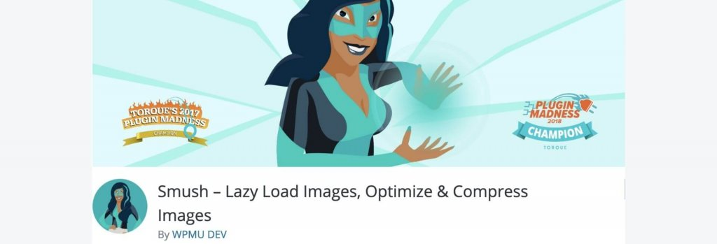 Smush WordPress plugin billboard