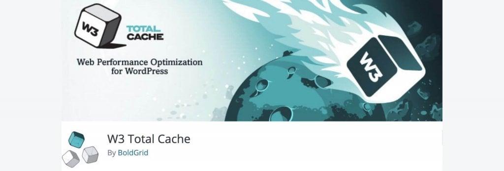 W3 Total Cache WordPress plugin billboard