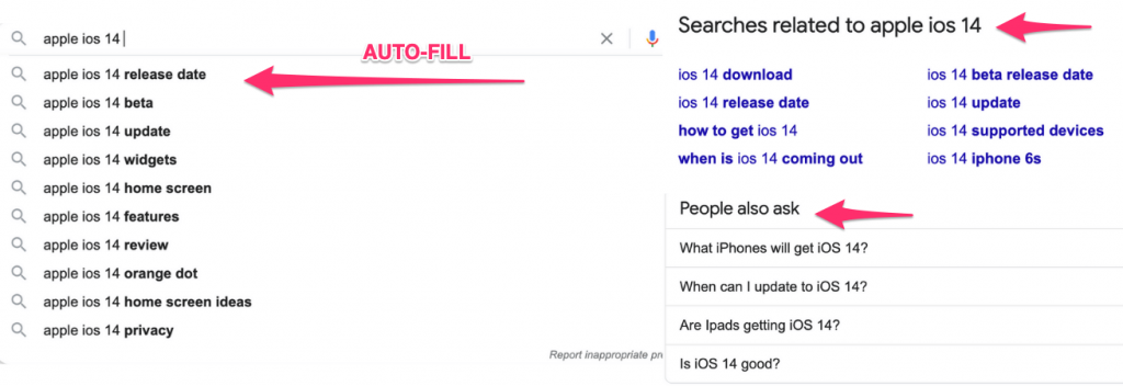 google-auto-fill-search-seo-example